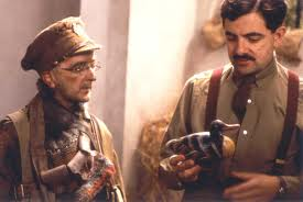 Blackadder explains the complexity of the Euro to Baldrick