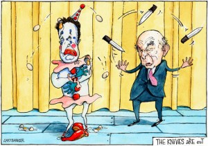 Knives out for Clegg