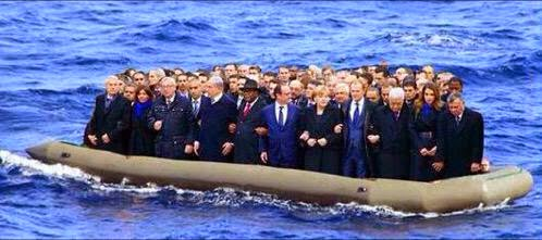 Lets put the EU leaders in a boat and send them to Libya?