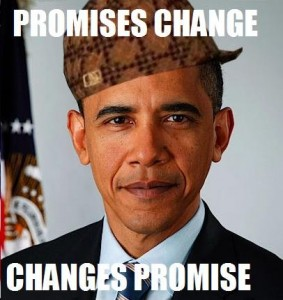 promises change but changes promises instead